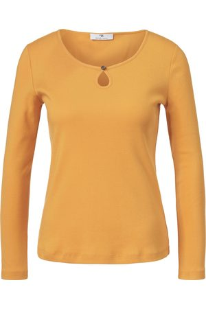 Peter Hahn Women Tops - Top long sleeves and rounded neckline size: 12