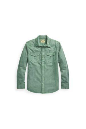Polo Ralph Lauren Men Casual - Classic Fit Denim Western Shirt