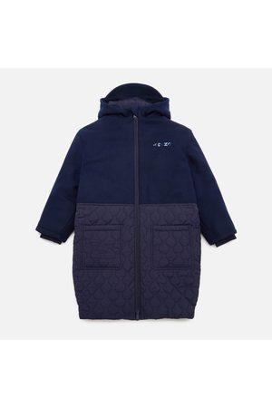 Kenzo Girls' Emboidered Hooded Coat