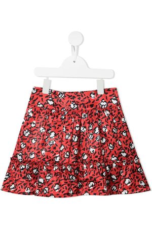 The Marc Jacobs Kids Leopard-print flared skirt