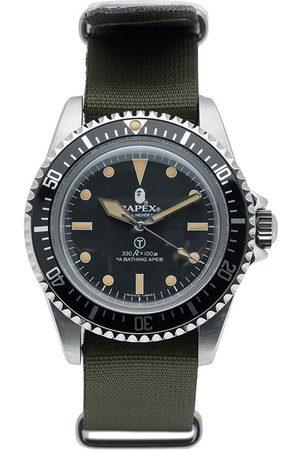 A BATHING APE® Men Watches - Classic Type 1 BAPEX® NATO 40mm