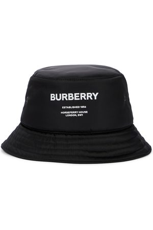 Burberry Logo bucket hat