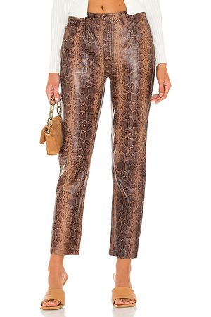 ONE TEASPOON Python Leather Trucker Pants in . Size M, S, XL, XS.