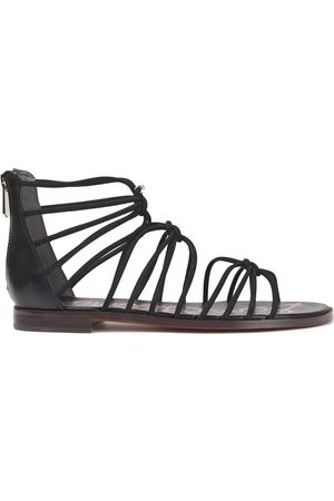 Sam Edelman Women Sandals - Woman Emi Knotted Leather Sandals Size 10