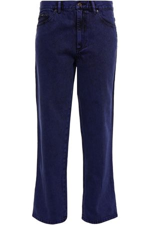 The Marc Jacobs Woman High-rise Straight-leg Jeans Dark Size 24