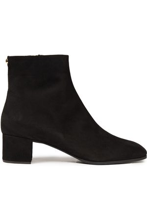 Giuseppe Zanotti Woman Suede Ankle Boots Size 34