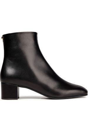 Giuseppe Zanotti Woman Studded Leather Ankle Boots Size 34