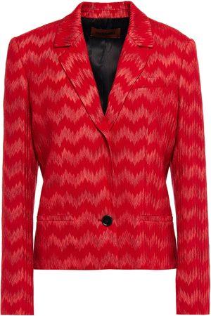 Missoni Woman Crochet-knit Blazer Size 36