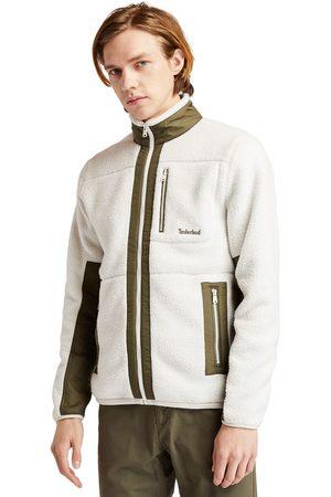 Timberland Men Fleece Jackets - Sherpa fleece jacket for men in , size l