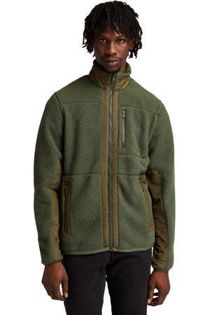 Timberland Sherpa fleece jacket for men in dark dark , size l
