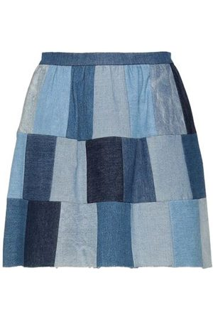 RED Valentino BOTTOMWEAR - Denim skirts