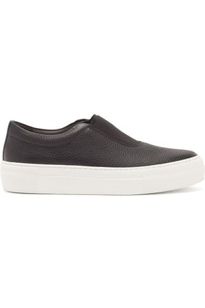 Primury Basal Leather Slip-on Trainers - Womens