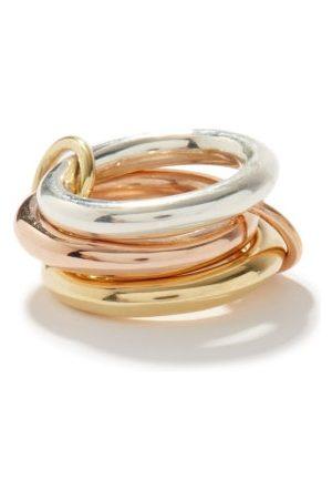 Spinelli Kilcollin Mercury Mx , Rose- & Sterling-silver Ring - Womens - Multi