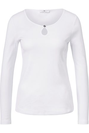 Peter Hahn Top long sleeves and rounded neckline size: 10