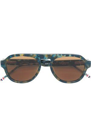 Thom Browne Eyewear Sunglasses - Aviator style sunglasses