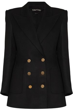 Tom Ford Peak-lapel double-breasted blazer