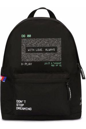 Dolce & Gabbana Kids Screen-print backpack