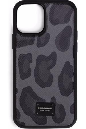 Dolce & Gabbana Leopard-print iPhone 12 case