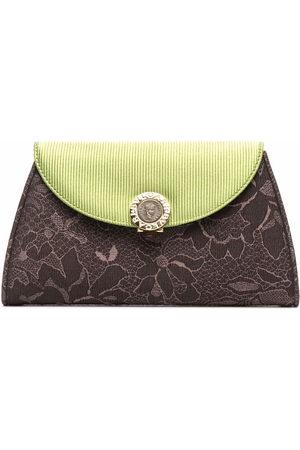 Bvlgari Women Clutches - Floral-print clutch bag