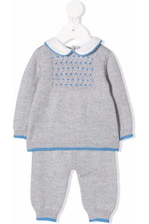 SIOLA Sets - Knitted merino-wool babygrow set