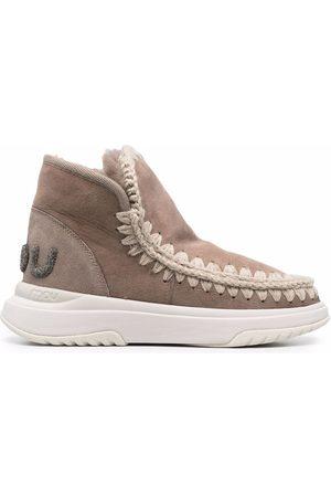 Mou Women Trainers - Eskimo whipstich sneakers