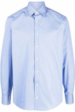 Lanvin Pinstriped long-sleeve shirt