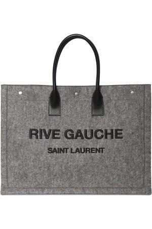 Saint Laurent Large Rive Gauche Leather Tote