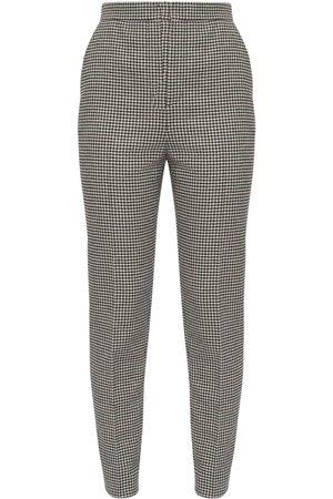 Saint Laurent Women Formal Trousers - Wool Blend Skinny Pants