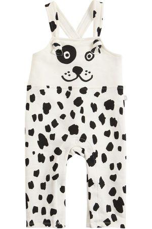 Stella McCartney Girls Bodysuits & All-In-Ones - Dalmatian Print Cotton Overalls