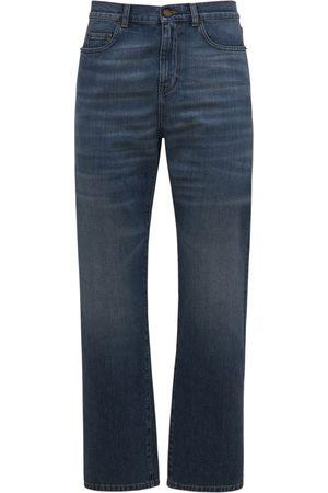 Saint Laurent Authentic Straight Denim Jeans