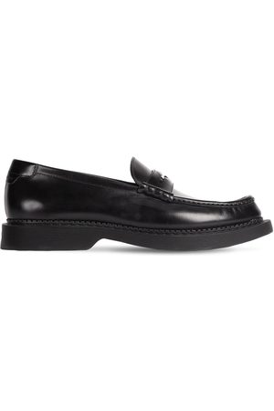 Saint Laurent Men Loafers - Teddy 10 Penny Loafers