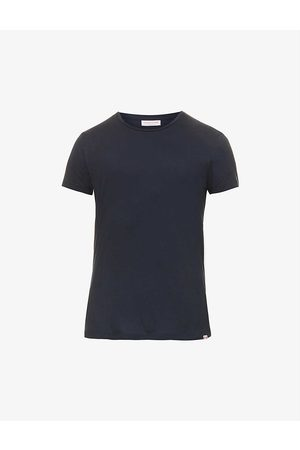 Orlebar Brown Men Short Sleeve - OB-T crewneck cotton-jersey T-shirt