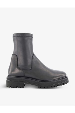 Dune Women Boots - Putneys stretch-leather sock boots