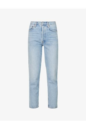 AGOLDE Women Tapered - Fen tapered high-rise organic cotton jeans