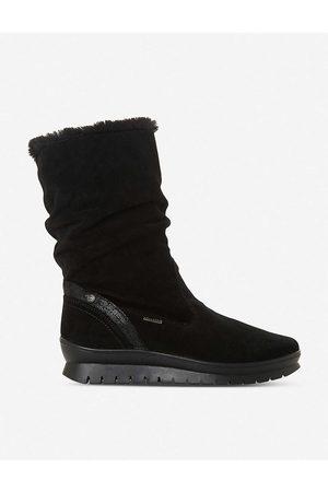 Dune Women Boots - Rafikii water-resistant faux-fur suede boots