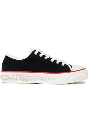Sandro Women Trainers - Woman Anouk Suede Sneakers Size 36