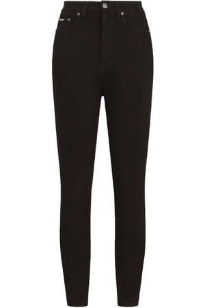 Dolce & Gabbana Skinny High-Rise Jeans