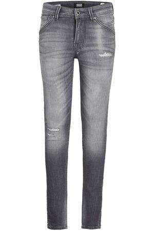 jack & jones Boys Dan Fox Indigo Knit Skinny Fit Jeans