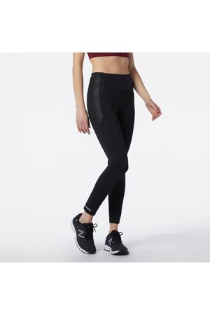 New Balance Women Sports Leggings - Women's Impact Run Heat Tight - - Size L