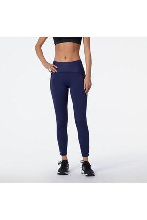 New Balance Women Sports Leggings - Women's Reflective Impact Run Heat Tight - - Size L