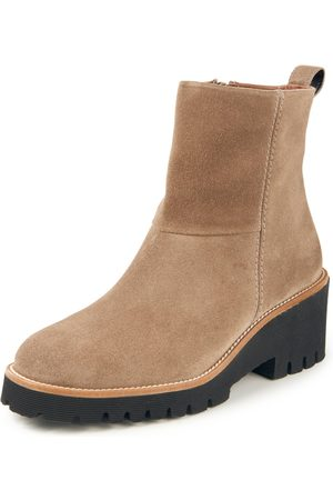 Paul Green Women Ankle Boots - Ankle boots in calf suede leather size: 35,5