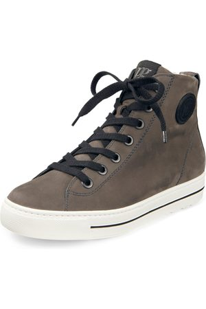 Paul Green Ankle-high sneakers in calf nubuck leather size: 36