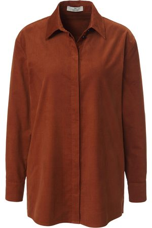 PETER HAHN PURE EDITION Women Long sleeves - Corduroy shirt in 100% cotton size: 10