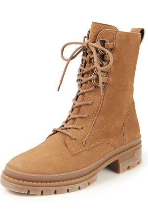Paul Green Women Ankle Boots - Lace-up ankle boots in leather size: 37