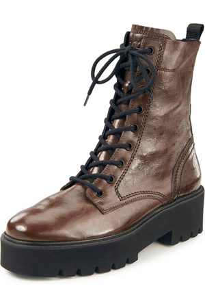 Paul Green Lace-up ankle boots in calf nappa leather size: 37