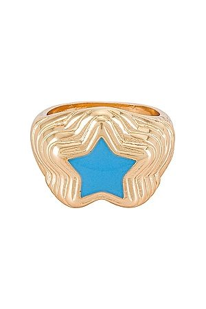 8 Other Reasons 8 Other Reason Gold Ring With Star in . Size 6, 7, 8.