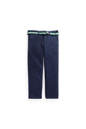 Ralph Lauren Belted Slim Fit Stretch Twill Trouser