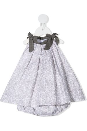 LA STUPENDERIA Floral-print sleeveless dress