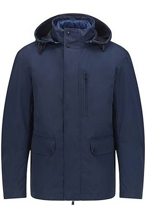 HUGO BOSS Men Summer Jackets - Three-in-one jacket with detachable hood and inner