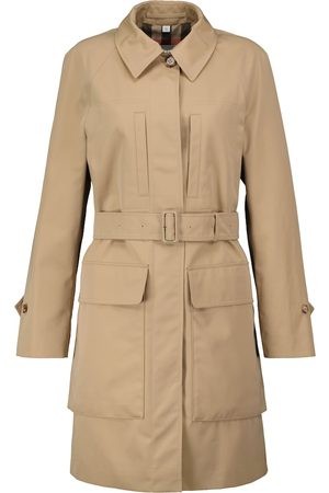 Burberry Curbridge cotton twill raincoat